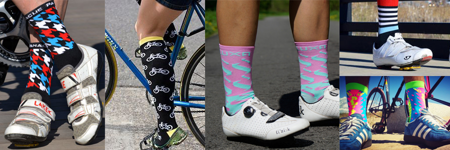 meias para ciclismo