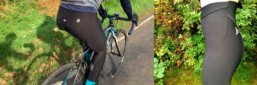 calças de ciclismo femininas