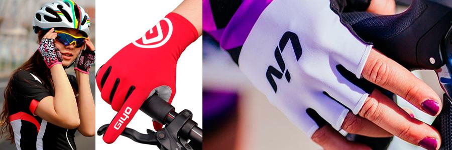 luva de ciclismo feminina