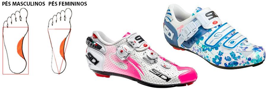 sapatilhas femininas de ciclismo