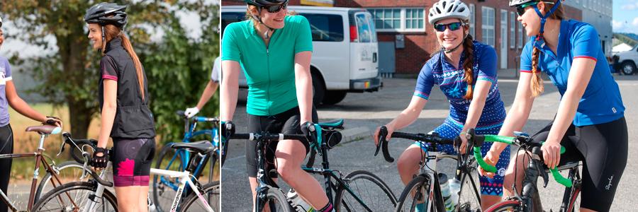 bermudas femininas de ciclismo