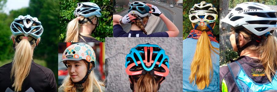 capacete feminino de ciclismo