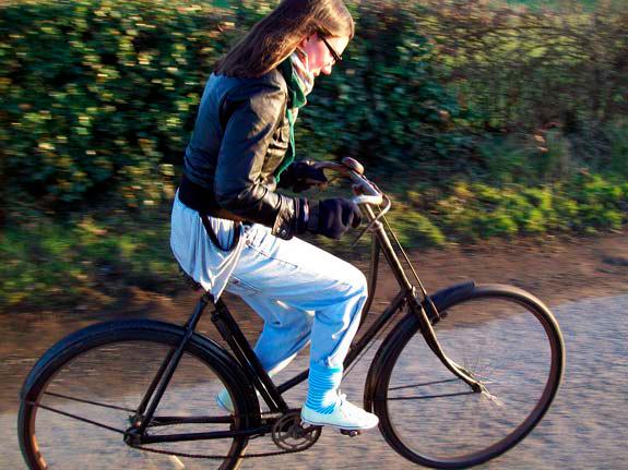 calças de ciclismo