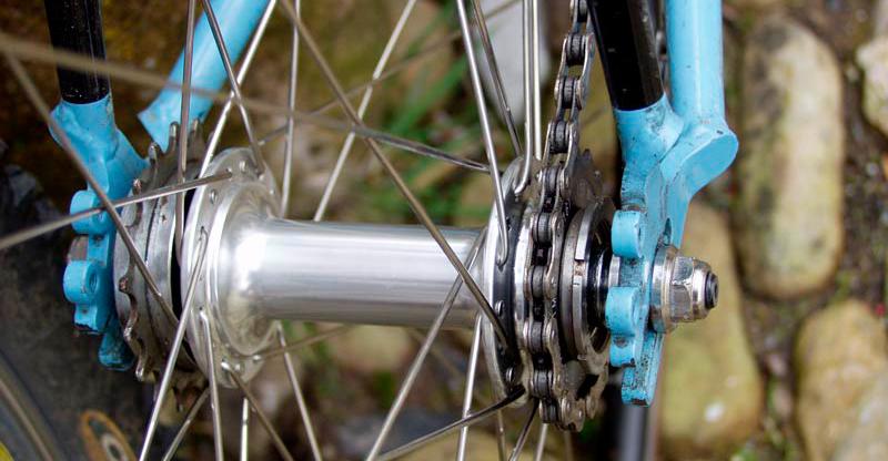 cubo para bicicleta