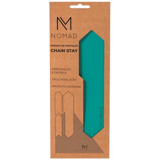 Adesivo de Prote��o Nomad Chain Stay Azul