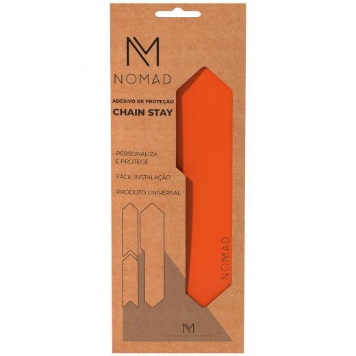Adesivo de Prote��o Nomad Chain Stay Laranja