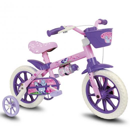 Bicicleta Aro 12 Infantil Nathor Cat