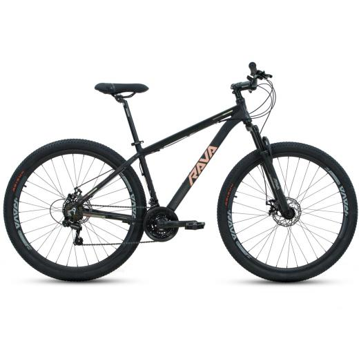 Bicicleta Aro 29 Rava Pressure 21V Preto/Vermelho