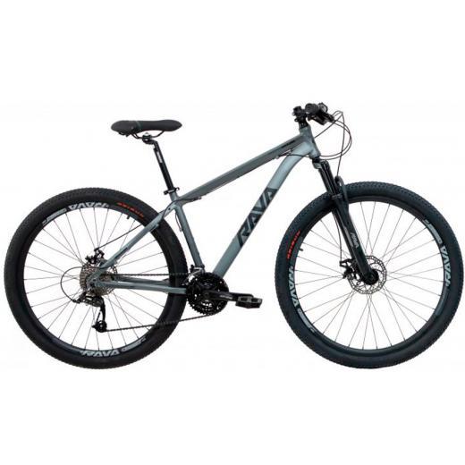 Bicicleta Aro 29 Rava Pressure 24V Cinza