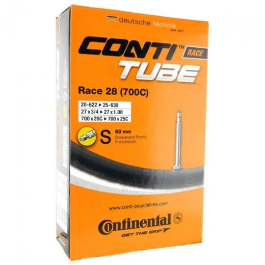 C�mara de Ar Continental Race 28 700 X 20/25 60mm