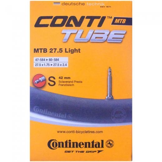 C�mara de Ar Continental MTB Light 27,5 S42