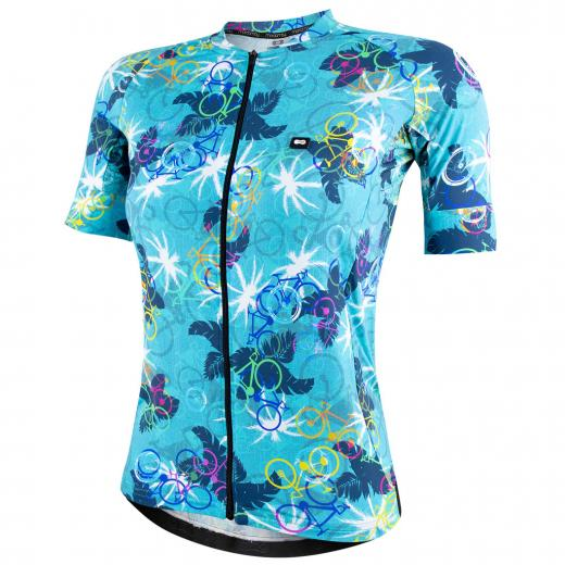 Camisa Feminina Marcio May Funny Premium Leaves Bikes