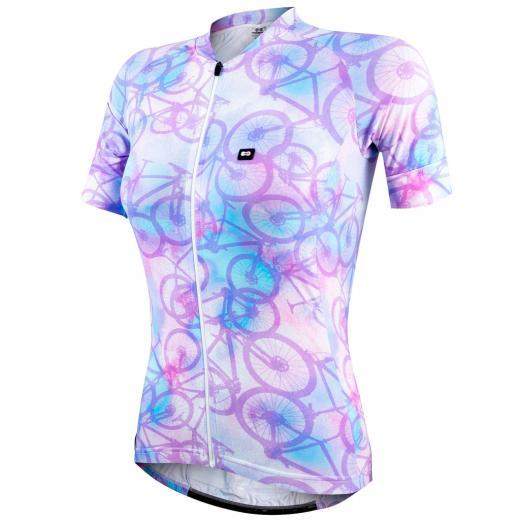 Camisa Feminina Marcio May Funny Tie Dye Bikes