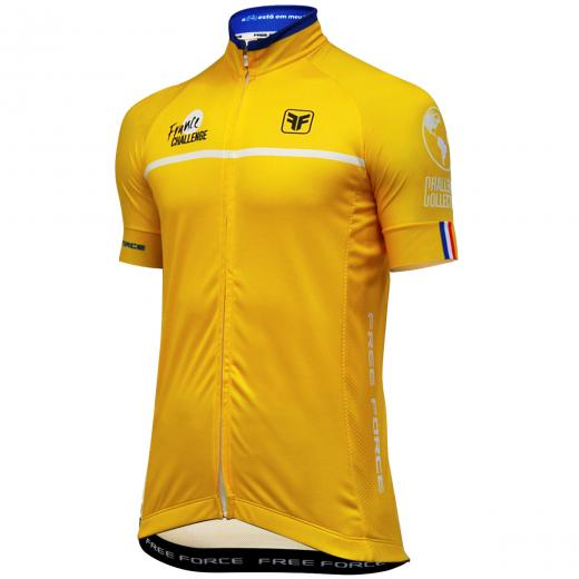 Camisa Free Force Tour Amarela