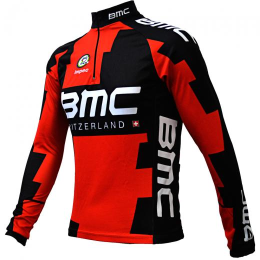 Camisa Manga Longa ERT World Tour BMC