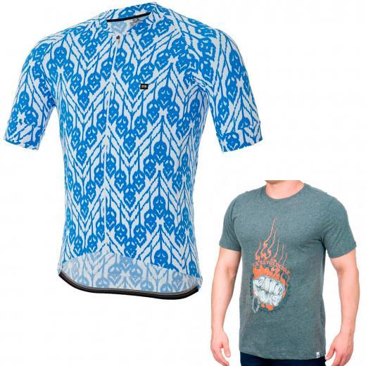 Camisa Marcio May Funny Ilusion BRINDE Camiseta Bike&Nuts La Resistance