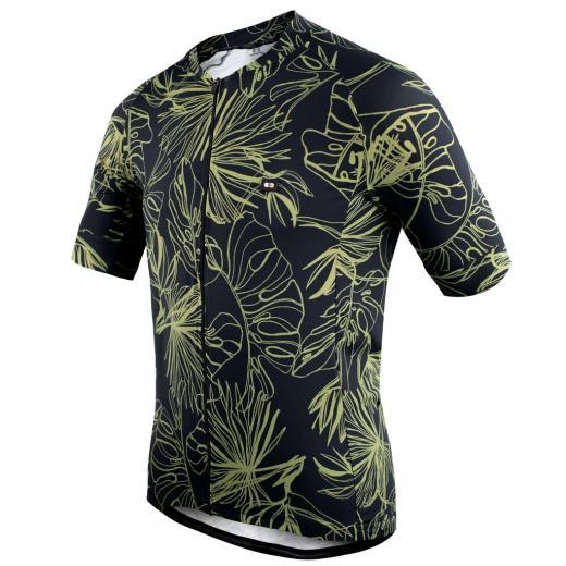 Camisa Marcio May Funny Monstera Leaves