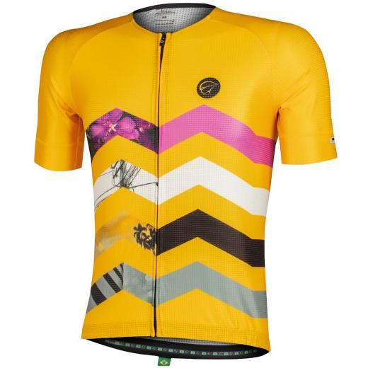 Camisa Mauro Ribeiro Summit Amarelo 2022