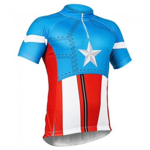 Camisa Refactor Super Heroes Capit�o Am�rica