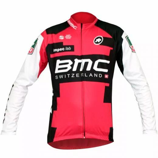 Camisa Refactor World Tour BMC Manga Longa - Somente P