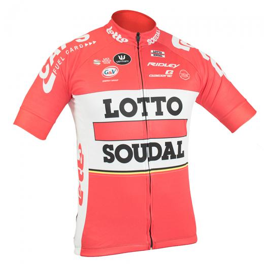 Camisa Refactor World Tour Lotto� Soudal