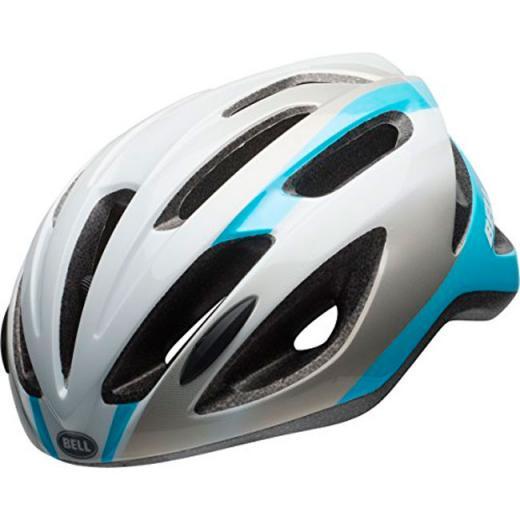 Capacete Bell Crest-R - Prata/Azul