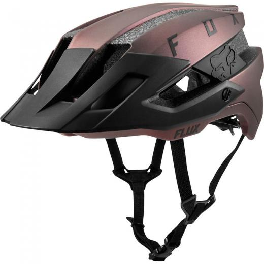 Capacete Fox Flux Black Iridium