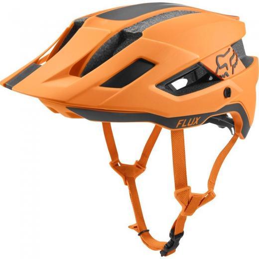Capacete Fox Flux Orange Crush