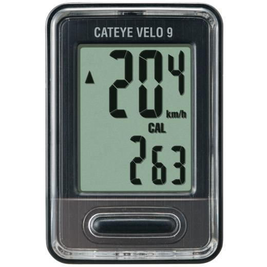 Ciclocomputador Cateye VL820 Velo 9