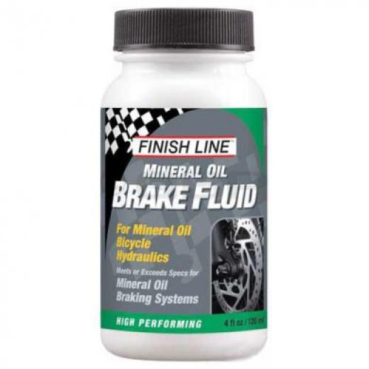 Flu�do de Freio Finish Line Mineral Oil 120ml