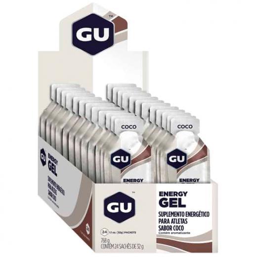 Gel Carboidrato Gu Energy Coco - Caixa 24 Unidades