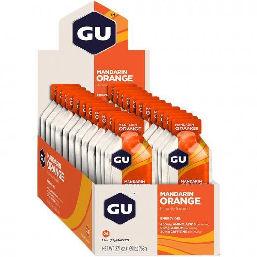 Gel Carboidrato Gu Energy Laranja - Caixa 24 Unidades