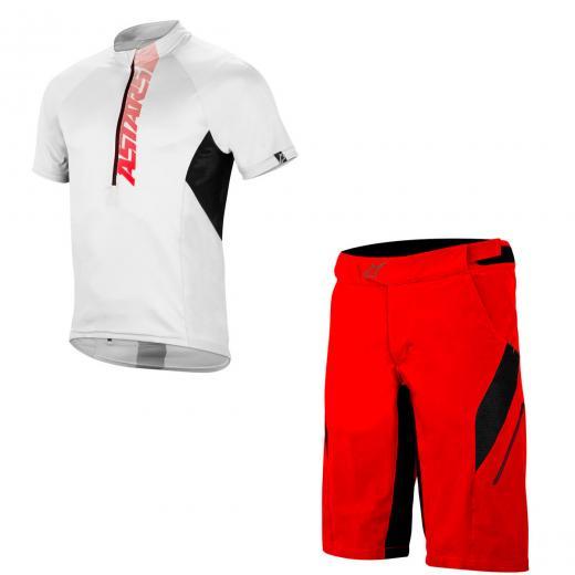 Kit Bermuda + Camisa Alpinestars Hyperlight