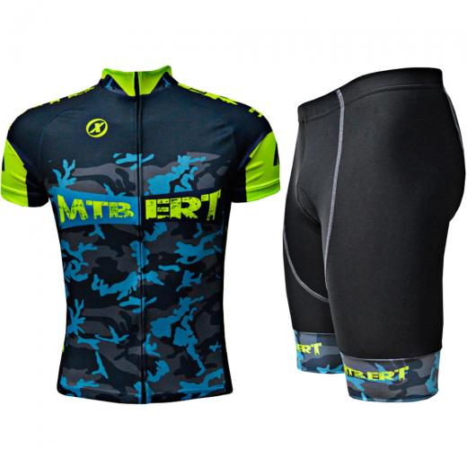 Kit Bermuda + Camisa ERT Advanced MTB Camuflada