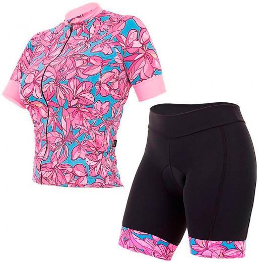 Kit Bermuda + Camisa Feminina Marcio May Funny Flowers