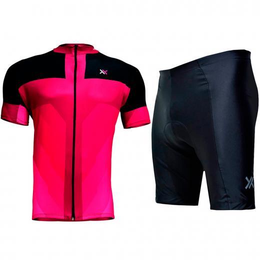 Kit Bermuda + Camisa Feminina Mattos Racing