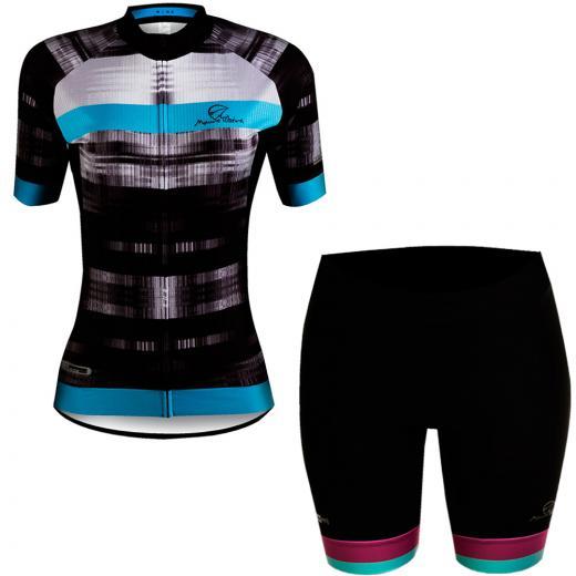 Kit Bermuda + Camisa Feminina Mauro Ribeiro Grace Rise