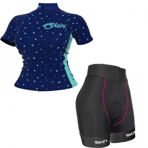 Kit Bermuda + Camisa Feminina Skin Sport V�nus