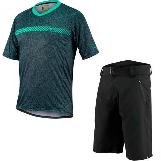 Kit Bermuda + Camisa Free Force Trail 2020