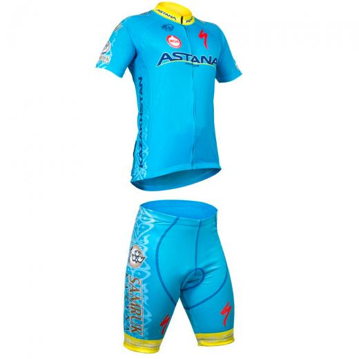 Kit Bermuda + Camisa Refactor World Tour Astana