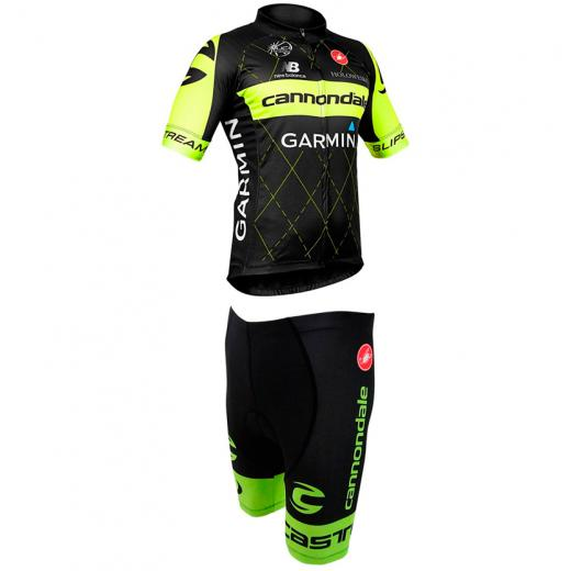 Kit Bermuda + Camisa Refactor World Tour Cannondale