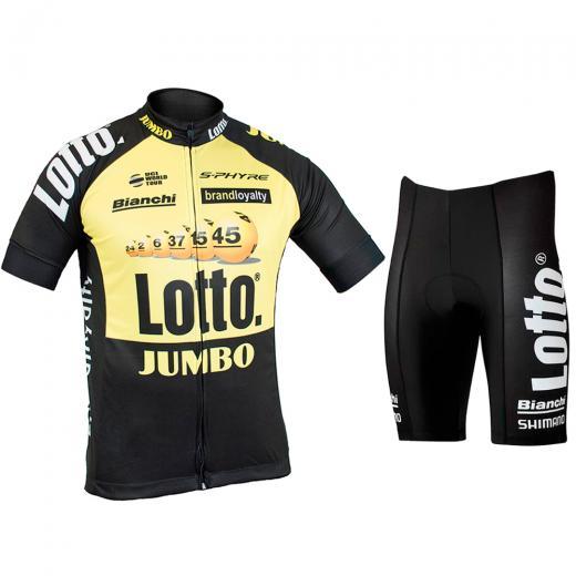 Kit Bermuda + Camisa Refactor World Tour Lotto® Jumbo 17 e93a9fd8f4ef4