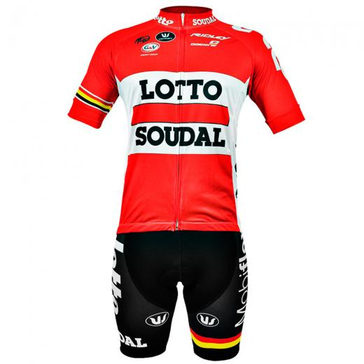Kit Bermuda + Camisa Refactor World Tour Lotto