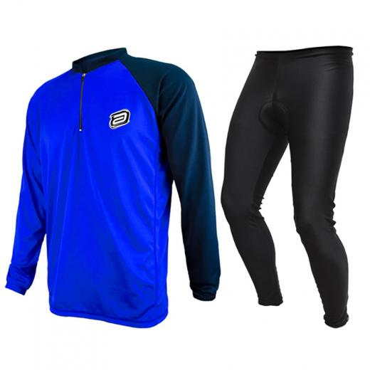 Kit Cal�a + Camisa Manga Longa ASW Lazer 19