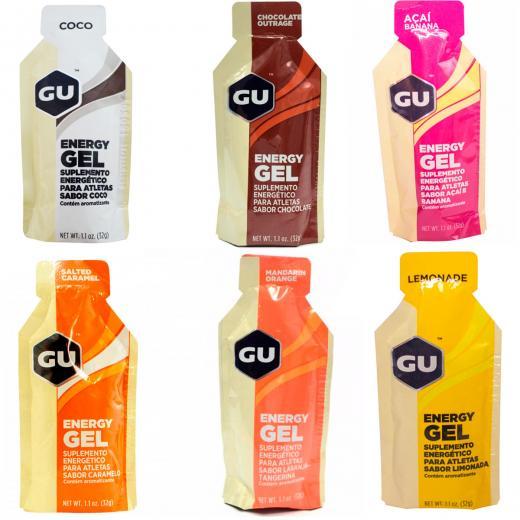 Kit Gel Carboidrato Gu Energy