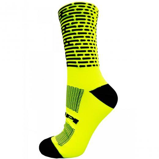 Meia Hupi Biometria Amarelo Neon