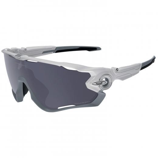 �culos Ciclismo Oakley Jawbreaker Branco Polido Polarizado
