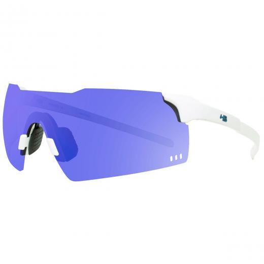 �culos HB Quad V Pearled White/Blue Chrome