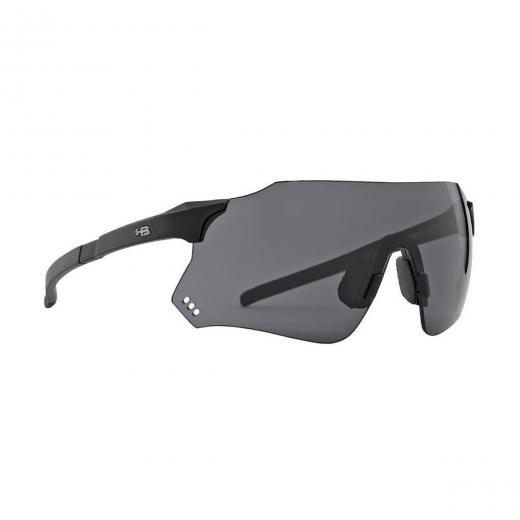 Óculos HB Quad X Matte Black/Gray - MX Bikes