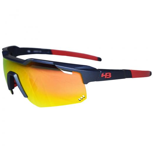 �culos HB Shield Mountain Matte Navy/Multi Red